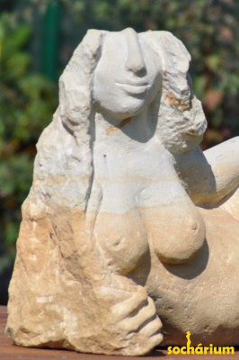 Torso of a Lion Woman