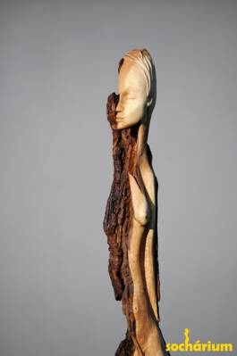 Lightning Strike Sculpture - Split
